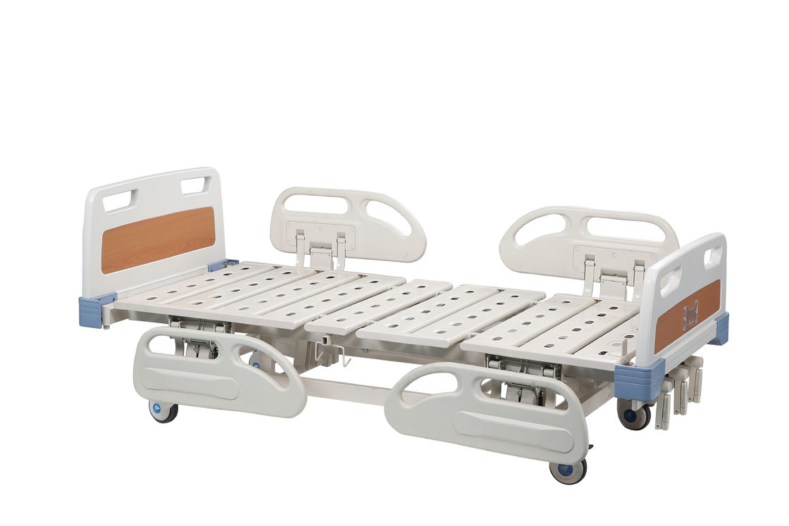 PP Head Board Automatic Hospital Bed , Single Electric Bed For Patient