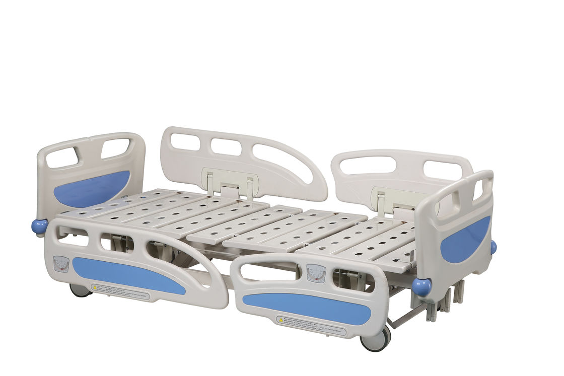 Home Medical Hospital Style Bed , Normal Two Handles Hospital Folding Bed