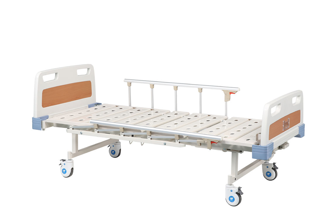 Nursing Care Manual Hospital Bed With 2 Function By CE And ISO Approved